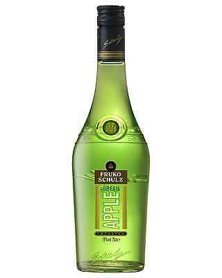 Fruko-Schulz Green Apple Liqueur 700mL case of 6 Fruit Liqueurs • AUD 158.69