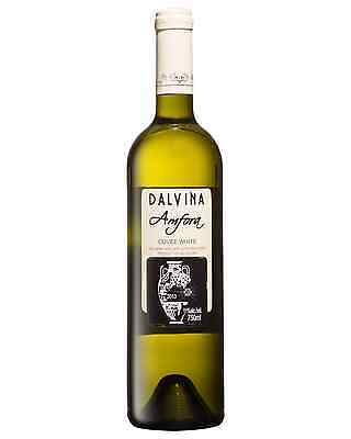 Dalvina Amfora Cuvee White 2013 case of 6 White Blend Dry White Wine 750mL