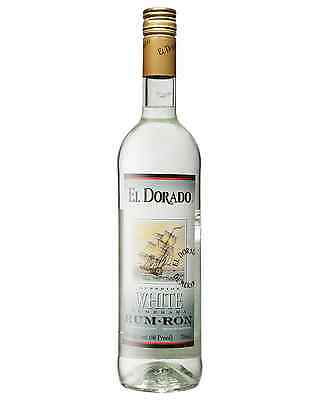El Dorado Superior White Rum 750mL bottle