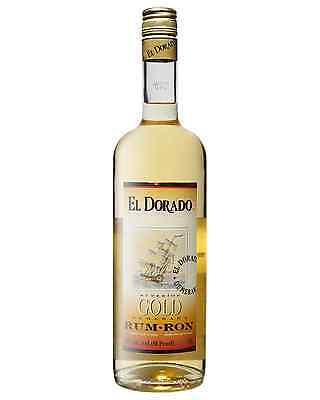 El Dorado Superior Gold Rum 1L bottle Dark Rum • AUD 59.99