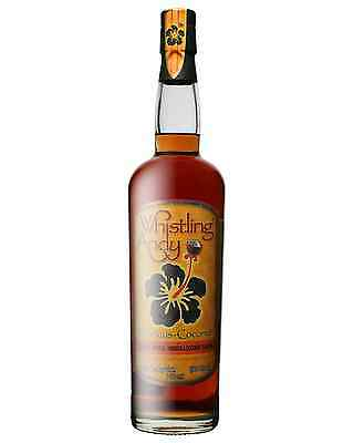 Whistling Andy Hibiscus-Coconut Rum 750mL bottle Flavoured Rum Dark Rum