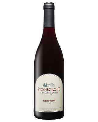 Stonecroft Serine Syrah 2012 case of 12 Dry Red Wine 750mL Hawkes Bay