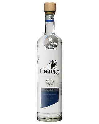 El Charro Silver Tequila 750mL bottle Blanco Los Altos