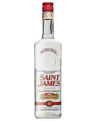Saint James Rhum Agricole Imperial Blanc 700mL bottle White Rum