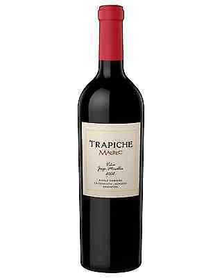 Trapiche Single Vineyard Malbec J Miralles 2008 bottle Dry Red Wine 750mL