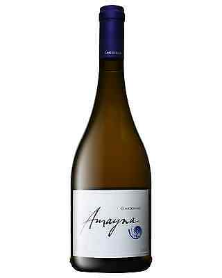 Amayna Chardonnay 2009 case of 6 Dry White Wine 750mL San Antonio Valley