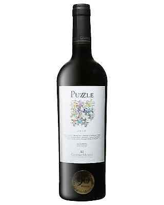 Gimenez Mendez Puzzle 2010 case of 6 Red Blend Dry Red Wine 750mL Las Brujas
