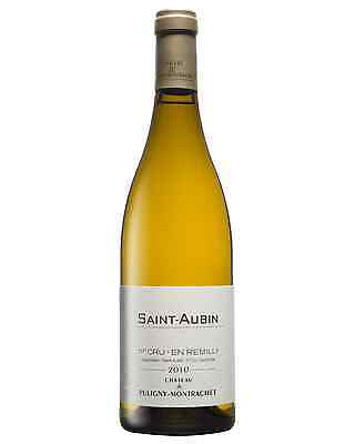 Chateau De Puligny Montrachet Saint Aubin En Remilly 1er Cru 2010 bottle Wine