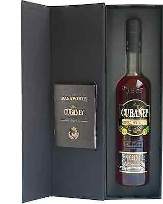 Cubaney Exquisite 21 year old 700mL case of 6 Rum Dark Rum