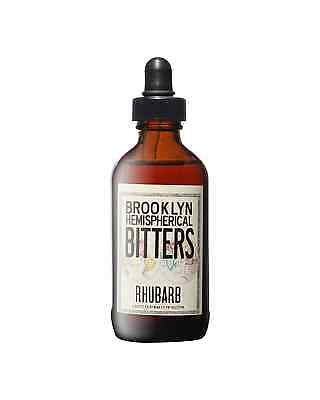 Brooklyn Hemispherical Rhubarb Bitters 120mL bottle