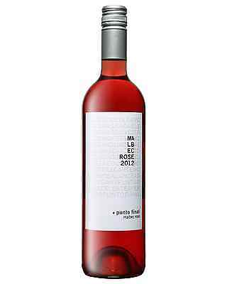 Renacer Punto Final Malbec Ros&#232 2012 case of 6 Rosé Wine 750mL Mendoza