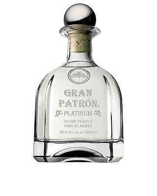 Patron Gran Patron Platinum 750mL bottle Tequila Blanco Jalisco