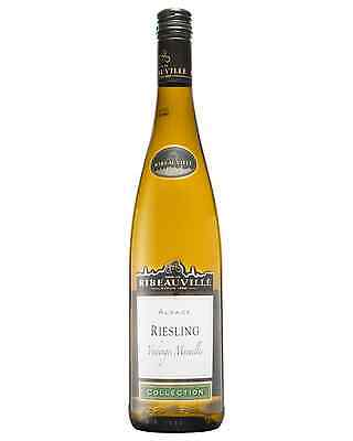 Cave De Ribeauvillé Riesling 2013 case of 12 Dry White Wine 750mL Alsace