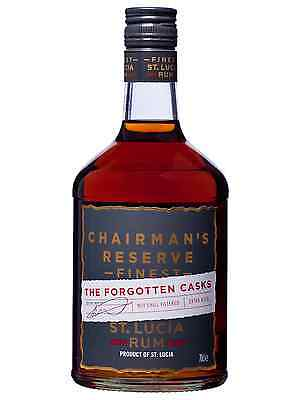 Chairmans Reserve The Forgotten Casks Rum 700mL bottle Dark Rum West Indies