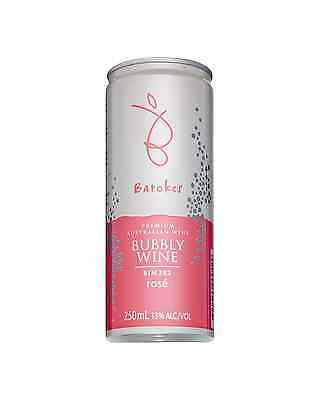 Barokes Bubbly Ros&#233 Bin 382 case of 12 Rosé Dry Red Wine 250ml