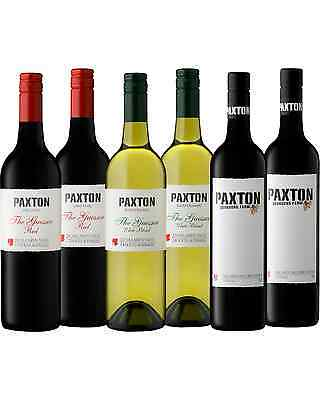 Paxton Mixed Organic Six Pack case of 6 Wine McLaren Vale