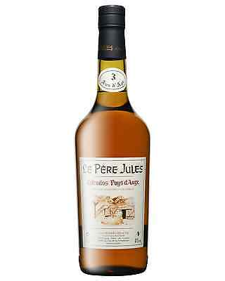 Le Pere Jules Calvados 3 Years Old 700mL bottle Brandy Normandy