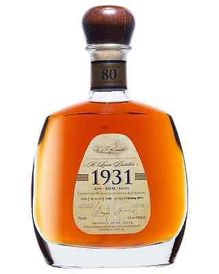 1931 Rum Limited  Edition, First Release 700mL bottle Dark Rum