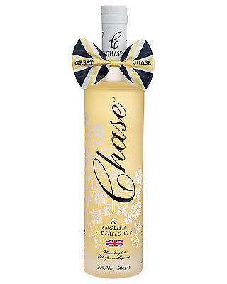 Chase Elderflower Liqueur 500mL bottle Fruit Liqueurs