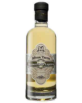 The Bitter Truth Elderflower Liqueur 500mL bottle Herbal Liqueurs