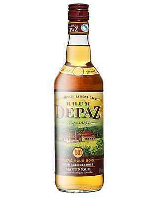 Depaz Martinique Rhum Agricole Dore 1 Year Old 700mL case of 6 Dark Rum