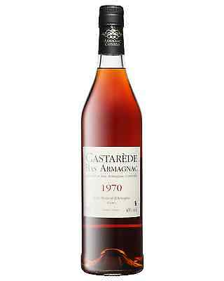 Castarede 1970 Armagnac 700mL Castarède bottle