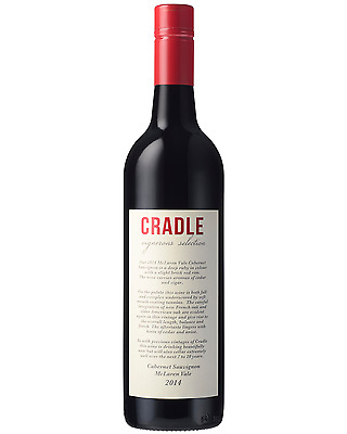 Cradle Cabernet Sauvignon 2013 case of 12 Dry Red Wine 750mL McLaren Vale