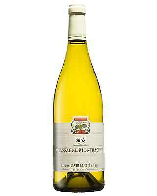 Domaine Jacques Carillon Chassagne Montrachet 2008 case of 1 Chardonnay Wine