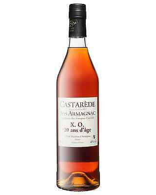 Castarede XO Armagnac 20 Years Old 700mL case of 6