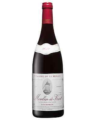 Domaine de La Merize Moulin-a-Vent Beaujolais 2012 case of 12 Gamay Dry Red Wine