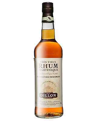 Dillon VSOP Tres Vieux Rhum Agricole 8 Years Old 700mL bottle Dark Rum