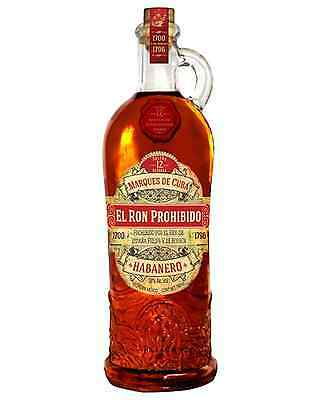 El Ron Prohibido Rum 700ml case of 6