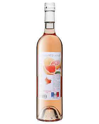 Dolfi Pink Grapefruit Flavoured Wine case of 6 Fruit Wine Fruit Liqueurs 750mL