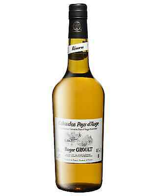 Roger Groult Reserve Calvados Pays d'Auge 3 Years Old 700mL case of 6