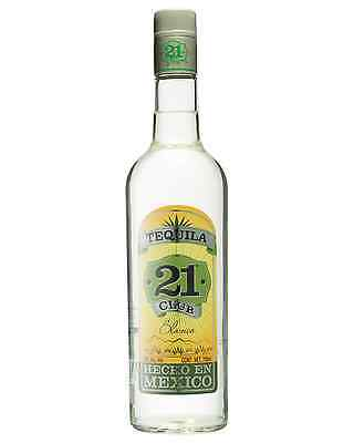 Club 21 Tequila Silver 750mL case of 6 Blanco