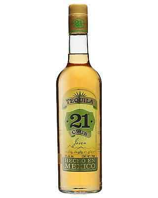Club 21 Tequila Gold 750mL case of 6 Añejo