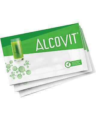 Alcovit Hangover Prevention 3 x 15g Sachet Bar Acessories