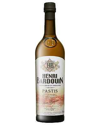 Henri Bardouin Pastis 700mL case of 6 Aperitifs Herbal Liqueurs Provence