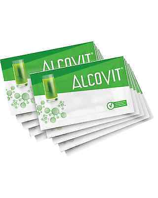 Alcovit Hangover Prevention 10x 15g Sachet Bar Acessories • AUD 82.40