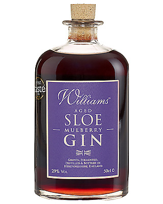 Chase Williams Sloe and Mulberry Gin 500mL bottle