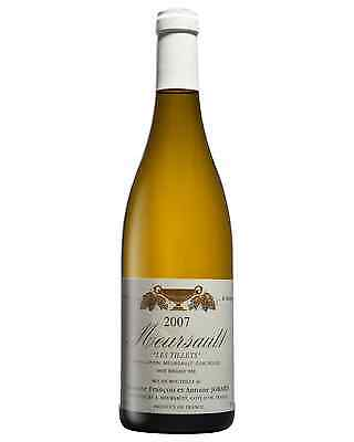 Domaine Antoine and Francois Jobard Meursault Les Tillets 2007 case of 1 Wine