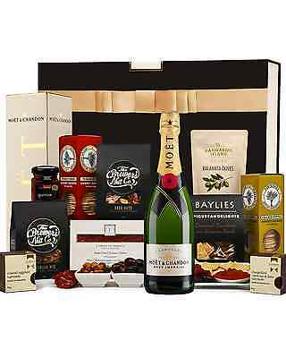 The Hamper Emporium Moët and Gourmet Nibbles Hamper • AUD 149.00
