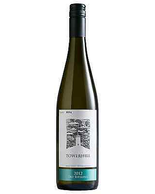 Towerhill Dry Riesling 2012 case of 6 Dry White Wine 750mL Western Australia
