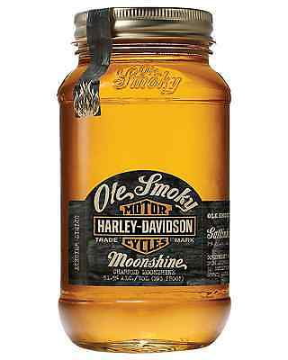 Ole Smoky Harley Davidson Ch Moonshine 750mL case of 6 American Whisky Tennessee