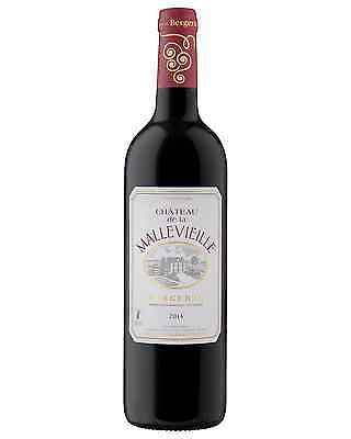 Chateau Mallevieille Cabernet Merlot 2014 case of 12 Red Blend Dry Red Wine