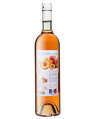 Dolfi Peach Apricot Flavoured Wine case of 6 Fruit Wine Fruit Liqueurs 750mL