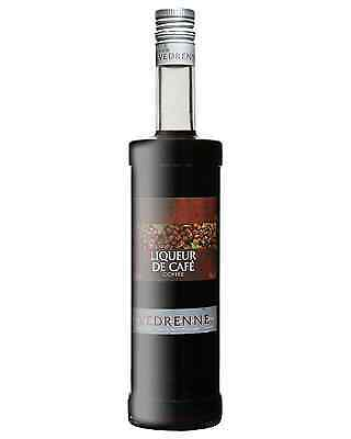 Vedrenne Liqueur de Cafe 700mL case of 6 Coffee Liqueurs Burgundy
