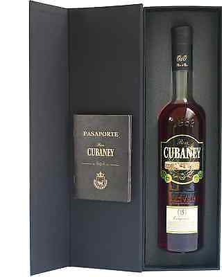 Cubaney Gran Reserve 15 Years Old 700mL case of 6 Rum Dark Rum