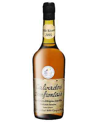 Victor Gontier Calvados Domfrontais Vieille Reserve 2003 700mL bottle Brandy