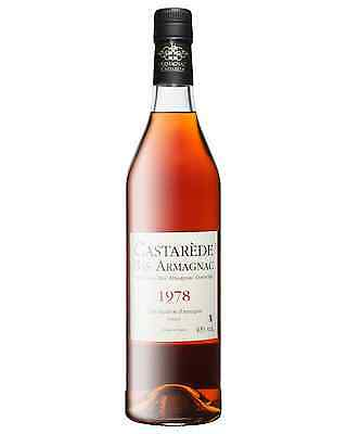 Castarede 1978 Armagnac 700mL bottle